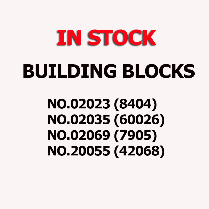 8404 02035 60026 02069 7905 20055 420680 2023 Transport Station Bus Train Briques Blocs De Construction jouets