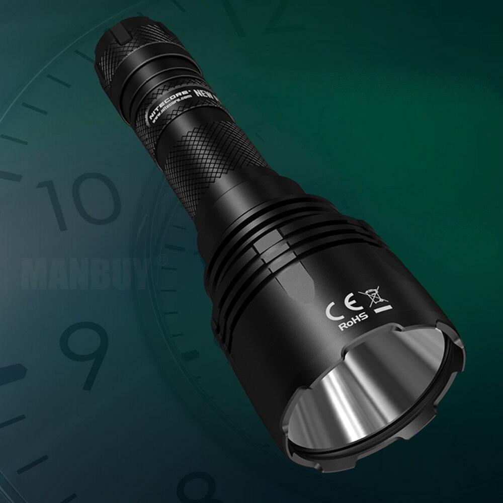 NITECORE 1000 Lumens NEW P30 +18650 Battery Long range Tactical Flashlights Outdoor Hunt Waterproof Portable Torch Free Shipping - 6