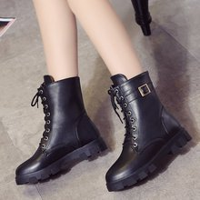 Boots Women 2019 Shoes For Autumn Winter Woman Casual Botas Mujer Female Ankle Boots Classic 2019 boots women western shoes woman casual genuine leather shoes platform boots for women winter botas mujer female ankle boots