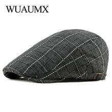 Wuaumx весенне летние береты для мужчин и женщин мужские бриллианты
