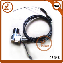 7Y-3914 320 excavator throttle motor MOTOR AS-GOVERNOR (double cable) excavator parts ex throttle control cable for hitachi direct manufacturer single cable
