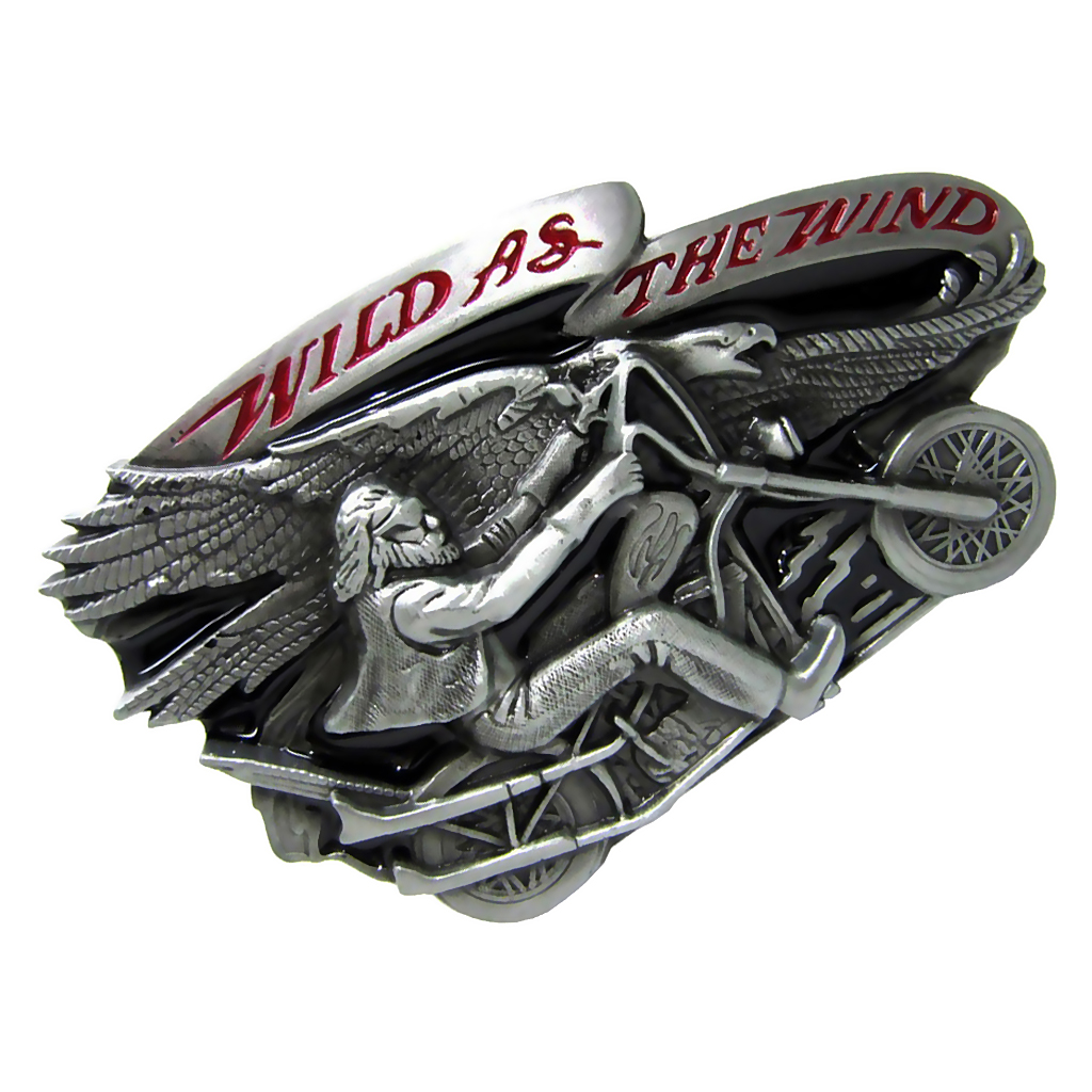 Cowboy Men's Belt Buckle Motorcycle Biker Style Oval Shape Men Accessories