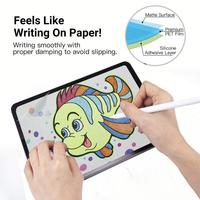 Paperlike Screen Protector for iPad 10.2 Work with Apple Pencil & Face ID Anti Glare / Fingerprint Paper Texture Matte Film Tablet Screen Protectors     -