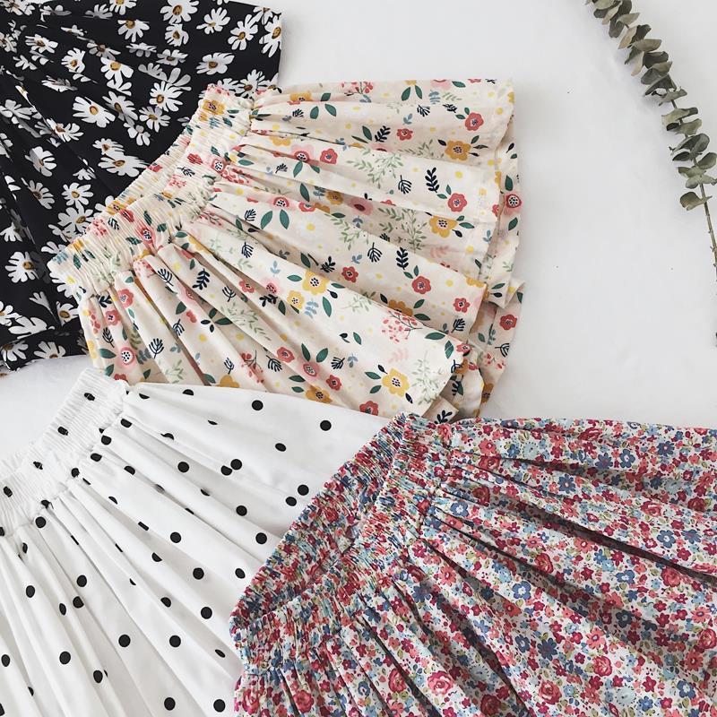 VIDMID New Summer Girls Skirts shorts Children Kids Clothes Teenager Girl Dance Party Tutu Skirt Baby Princess Clothing P171 2