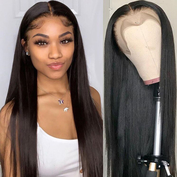 Human Hair Wigs Beaudiva Hair Lace front Human Hair Wigs Pre-Plucked with Baby Hair  Peruvian Straight Hair Wigs sunya peruvian 100% human hair wigs transparent lace front wigs for women pre plucked 13x6 straight lace front wigs remy hair