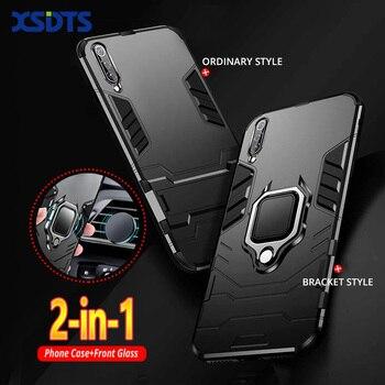 Armor Case For Xiaomi Redmi  Note 9 9s 8 8A 8T 7A 7 6 5 K30 K20 Pro Max Poco X2 F1 F2 A2 Lite 5G PC+TPU Phone Cover Coque 1