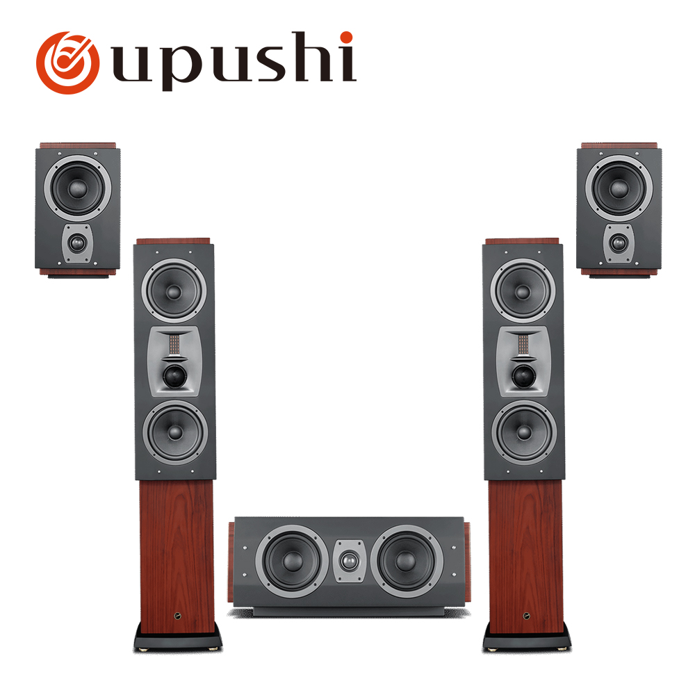 Oupushi Home Theater 5.1 System Smart Bluetooth Multi 5.1 Surround Sound Home Theatre System 3D Surround Sound Music Center