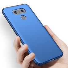 Original Case For LG G5 Phone Case Luxury Matte Hard PC Cover On H870 H870DS G6+ H871 H872 H873 H870K VS998 LS993 US997 protection Cover(China)