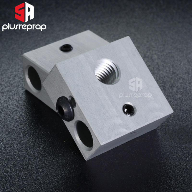 Аксессуары для 3D-принтера, нагревательный блок MK7 MK8, специальная Печатная головка MK8, экструдер, алюминиевый блок