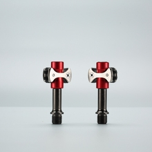 Zero Chrome-Moly Pedals with Walkable Cleats