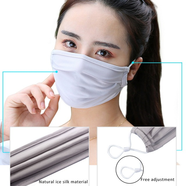 ReadyStock PM2.5 Black mouth Mask anti dust mask Activated carbon filter Windproof Mouth-muffle bacteria proof Flu Face masks 1