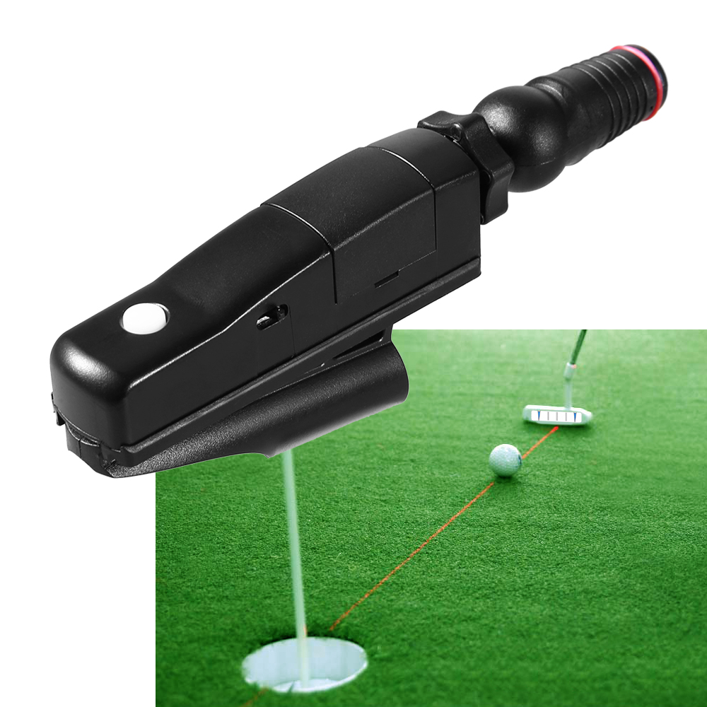 Outdoor Sports Golf Laser Putter Pointer Putting Training Aid Aim Line Corrector Tool Golf Accessories Golf Putter Tool 2019