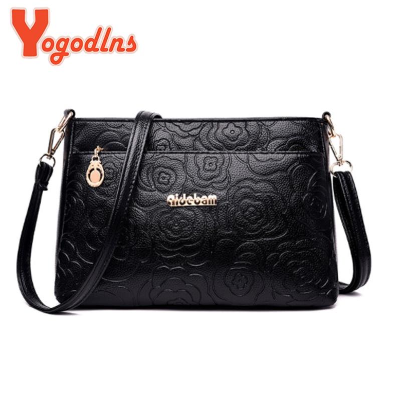 Yogodlns Mini Bag Women's Luxury Handbag Crossbody Shoulder Bag Girls Messenger Bags PU Leather Mini Bag Shoulder Bag