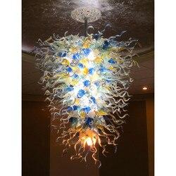 Darmowa wysyłka UL/CE żarówka LED luksusowe szkło murano Art włoskie oświetlenie Lobby