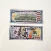 Детские игрушки долларов США банкнот фильм банкноты вечерние атмосферу показать богатство 100 долларов фальшивых денег креативный подарок