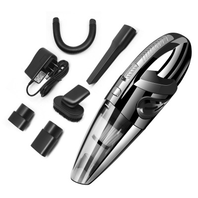Portable Handheld Vacuum Cordless Powerful Cyclone Suction Rechargeable Vacuum Cleaner Easy Using Quick Charge Wet Dry