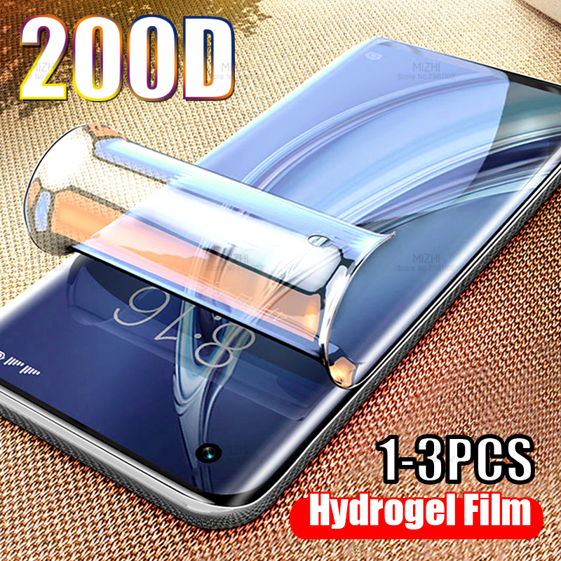 200D Safe Hydrogel Protective Film For Xiaomi Mi 10 5g Screen Protector On For Xiaomi Xiomi Mi10 Mi 10 Pro Xiaomi10 Curved Film