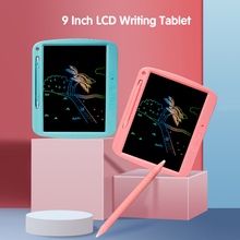 Erasable 9inch Writing-Board Drawing LCD Doodle-Pad Eye-Protective-Paper Pressure-Sensitive-Double-Headed-Pen