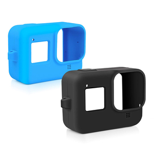 Image 5 - Soft Silicone Case for GoPro Hero 8 Black Protective Full Cover Shell for Go Pro Hero 8 Action Camera Accessories