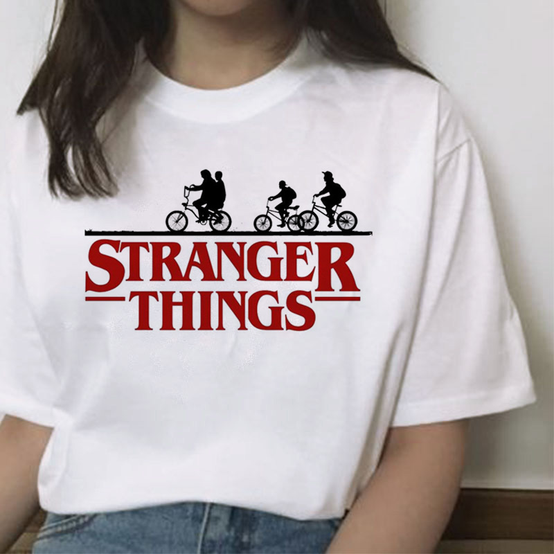 New Stranger Things 3 Printed Tshirt Summer Upside Down Eleven Vogue T Shirt Short Sleeve Fashion Clothing Top Tees