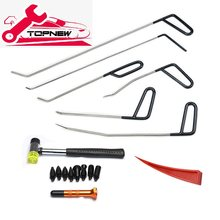 Pdr Staaf Haak Tool Geen Verf Dent Repair Auto Deuk Remover Kit Hagel Hamer Dent Remover Rode Wig Knock Off pdr Kit(China)