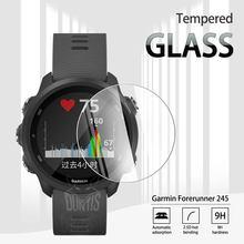 Garmin Forerunner 245 245 M закаленное стекло, Защита экрана для Garmin Forerunner 245 245 музыка против царапин, прозрачная пленка