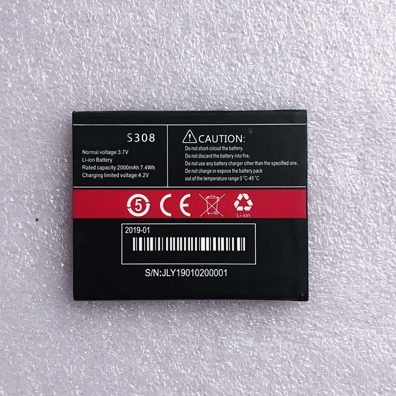 2000mah new <font><b>battery</b></font> for <font><b>CUBOT</b></font> <font><b>S308</b></font> image
