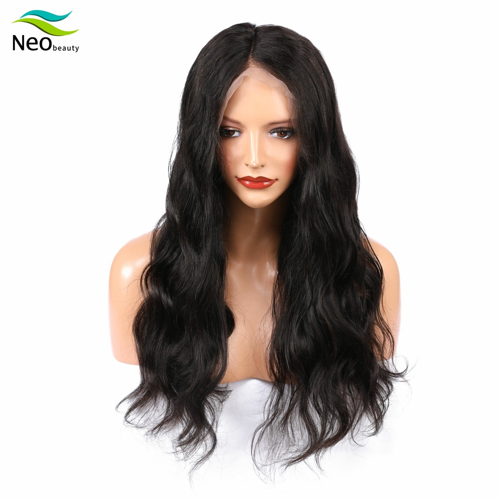 <font><b>10A</b></font> Brazilian Virgin Hair 13x4 <font><b>Lace</b></font> Front Human Hair <font><b>Wigs</b></font> for Black Women Super Soft 150% Loose Wave <font><b>Wig</b></font> image