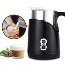 JASSY – mousseur à lait électrique 4 en 1, chauffe-lait automatique en acier inoxydable, entièrement détachable, pour Latte Cappuccino froid/chaud