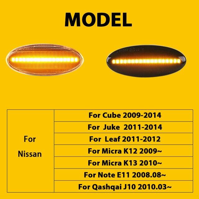 qcdin для nissan cube 2009 2014 боковой габаритный фонарь светильник фотография
