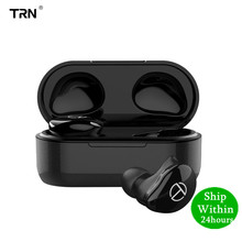 TRN T200 5.0 Bluetooth earphone True wireless Double Earphone In Ear HIFI Earphones V80 AS10 O5 X1 X1E T1 E12 O2 BT20 S