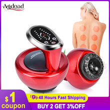 Elétrica cupping massagem terapia aparelho de sucção a vácuo gua sha raspagem dispositivo meridiano terapia queima de gordura