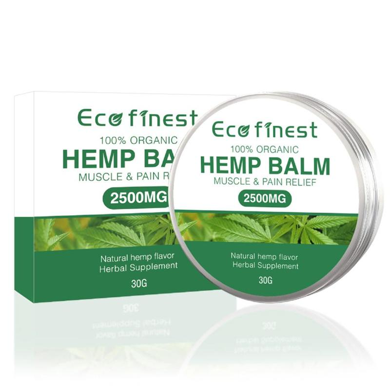 2500mg Hemp Cream For Pain Relief Arthritis Back Joint Muscle Ointment Hemp Oil Extract Salve Herbal Hemp Balm Massage Cream