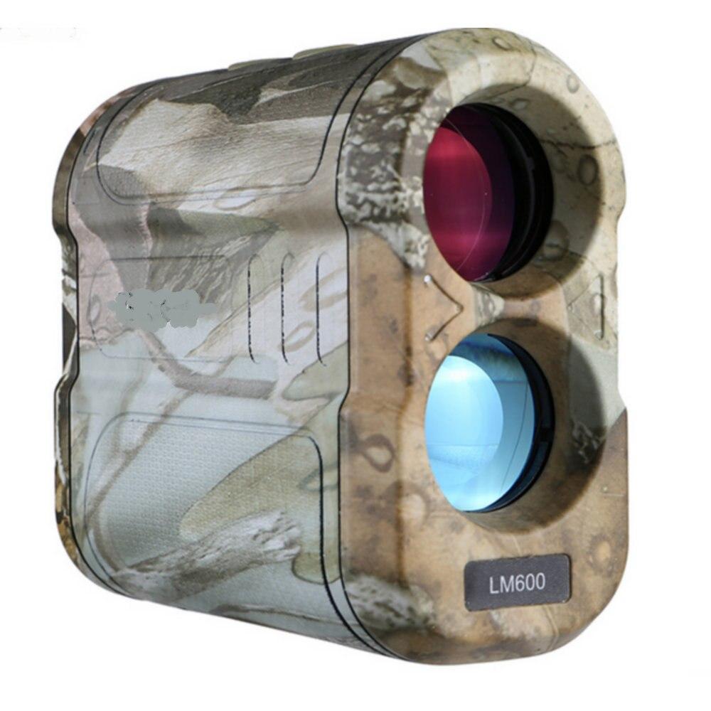 Laser Rangefinder 6X Magnification 600M Distance Measurer Speed/Height/Angle Overall Measurement LRF for Golf Hunting Rangefinders     - title=