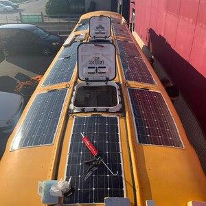 Image 5 - Xinpuguang Pin Năng Lượng Mặt Trời 100W 200 W Quang Điện Mặt Trời Linh Hoạt Mô Đun 18V Sonnenkollektor 12 V 24 V Pin sạc Solpanel