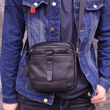 AETOO Messenger Bag Mens Shoulder cowhide Leather Bags Casual male Crossbody handle-top bags for men Small handbags