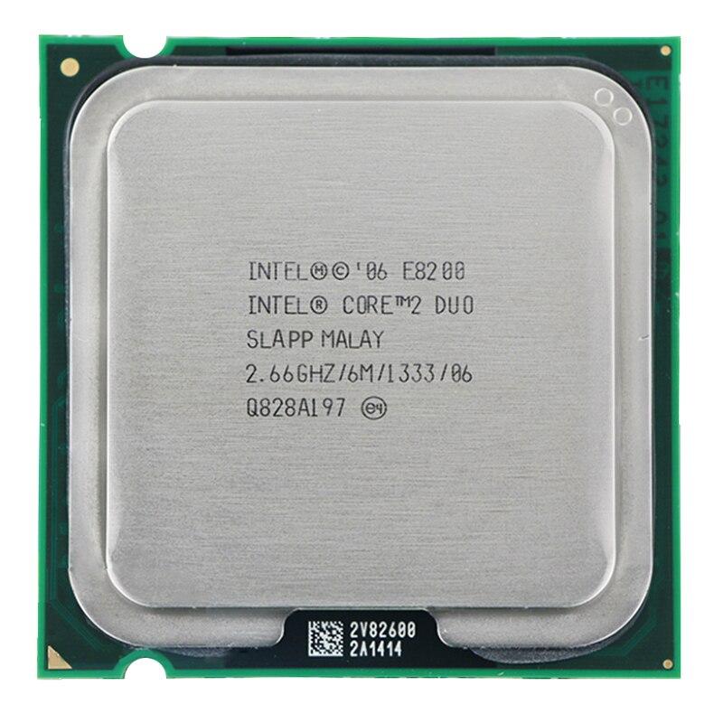 Original E8200 CPU Processor (2.66Ghz/ 6M /1333GHz) Socket 775 Free Shipping