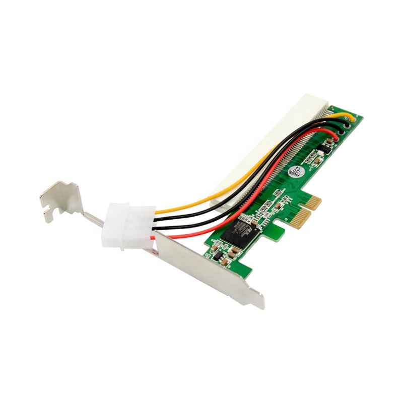 PCI Express x1 to PCI Bridge card PEX8112-AA66 Chipset pci slot converter card