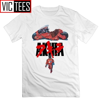 Akira Casual T Shirt Welcome To Neo Tokyo Shotaro Kaneda Round Collar Man Tees T-Shirts Party 100% Cotton лонгборд penny neo tokyo 22