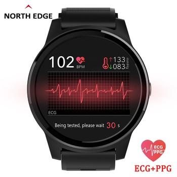 Смарт-часы для занятий спортом, фитнесом, ЭКГ PPG, артериального давления, пульсометр, браслет IP67, водонепроницаемый браслет для IOS Android