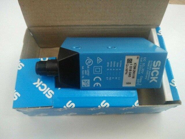 무료 배송 컬러 센서 KT5W 2N1116 센서 KT5W 2P1116 센서 KT5W 2P2116 광전 스위치 센서 NPN PNP (무료 케이블)