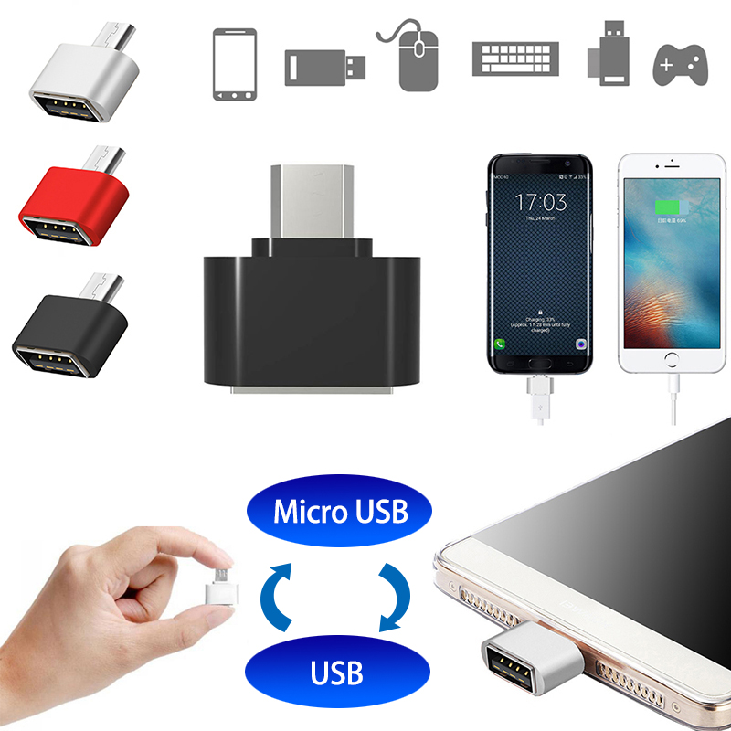 3pcs/lot New Style Mini OTG Cable USB OTG Adapter Micro USB To USB Converter For Tablet PC Android