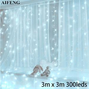 AIFENG Led Curtain Light 3Mx3M