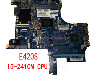 Laptop Motherboard/mainboard for Lenovo E420S I5-2410M CPU integrated graphics card HM65 100% tested Fully image