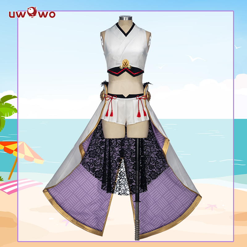 UWOWO Ibaraki Doji Cosplay Fate Grand Order Swimsuit FGO Berserker Women Costume Anime Fate Grand Order Cosplay Ibaraki Doji