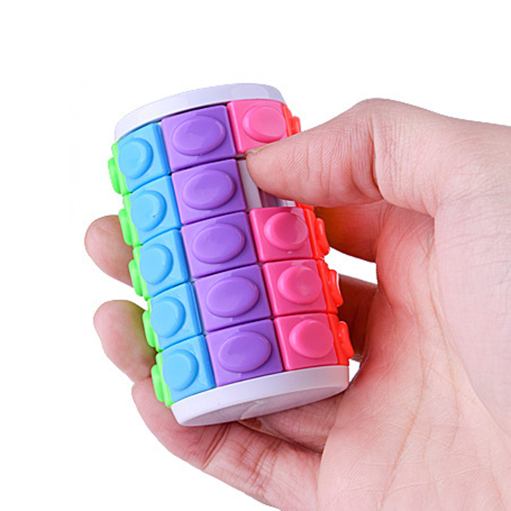 Baby Kid Magic Cube Puzzle For Children Rubiking Educational Toys Adult Children Puzzle Cubes Magico Educational Fun Toys