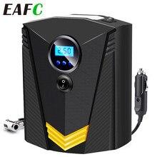 Compresor de aire portátil para coche, inflador digital de neumáticos DC 12V, bomba de aire de 150 PSI automática para coche y motocicleta, con luz LED
