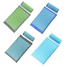 Cushion Massager-Mat Acupressure Body-Mat Relaxation Pain-Spike Stress Tension Back-Body