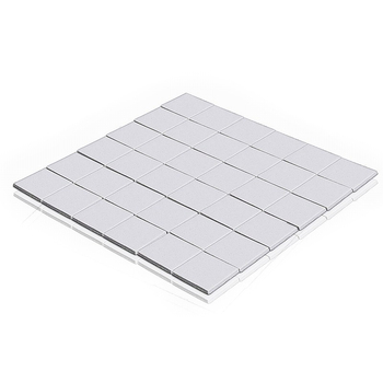 цена на 75 Pieces Lot 15X15x1MM for Xbox PS GPU SMD DIP VGA IC Chip Silicone Conduction Heatsink Thermal Paste Compounds Pad