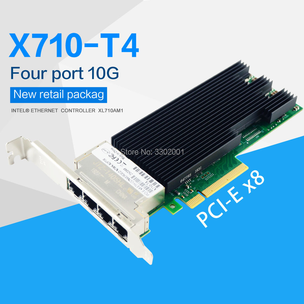 Full Height BRACKET FACE PLATE for Intel x540-T2 PCI-E 10G 4U
